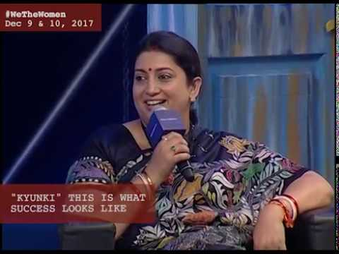 We The Women: Smriti Irani & Ekta Kapoor  talk to Karan Johar