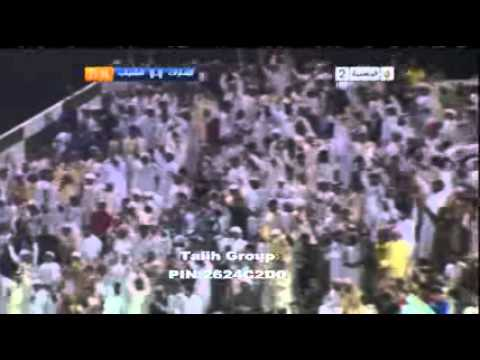 emirates club(UAE) vs alshabab club (KSA) 1-0