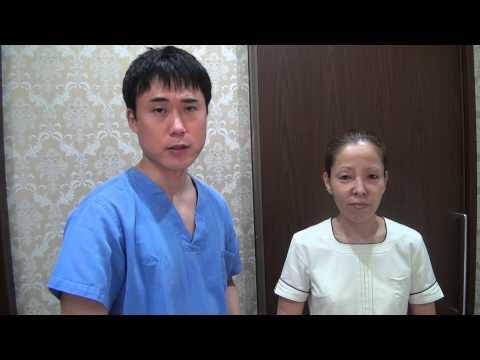 高須クリニック 吸収糸を使った頬のたるみ治療吸収糸を使った肌のハリを出す治療手術後2日目の経過 腫れはほとんどありません ダウンタイムについて