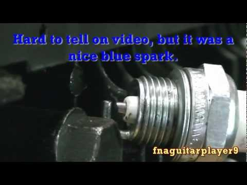 How to check for Spark Plug Fire (in any engine)