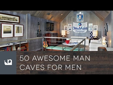50 Awesome Man Caves For Men