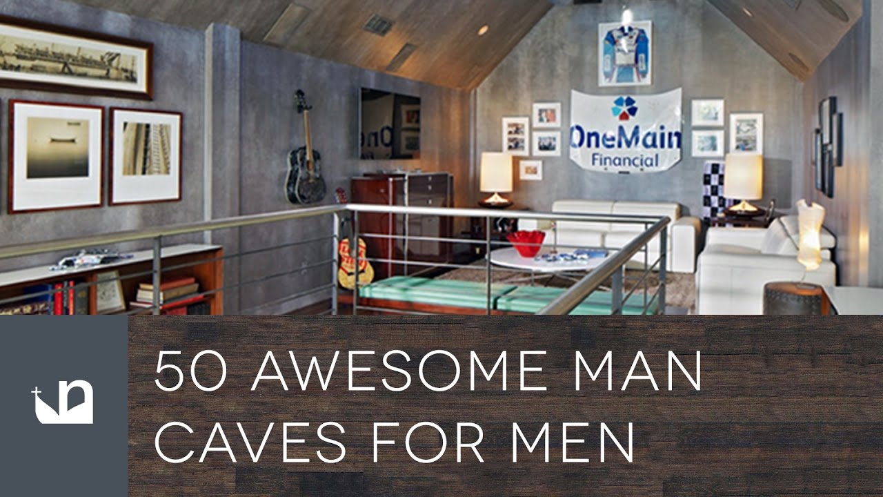 50 Awesome Man Caves For Men Youtube