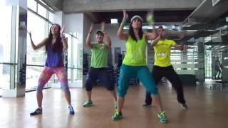 Repeat youtube video ZUMBA Limbo Electropunta Mix (El Chevo) by Honduras Dance Crew