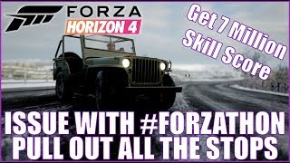 Forza Horizon 4 Issue with #FORZATHON Pull Out All the Stops!