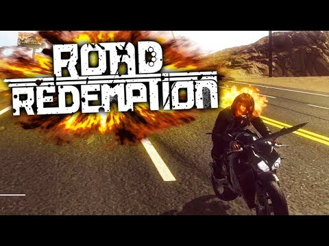 Riding The Devil's Road - Road Redemption Gameplay [Sponsored]
