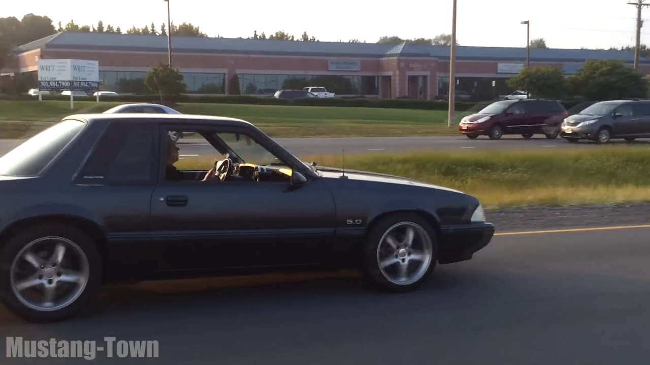 Nasty notchback foxbody 5 0 mustang freakin awesome man youtube