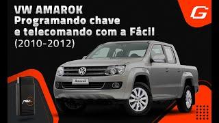 Programando chave e telecomando na VW Amarok - 2010 a 2012  com a Fácil