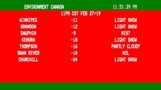 Weather Channel Winnipeg