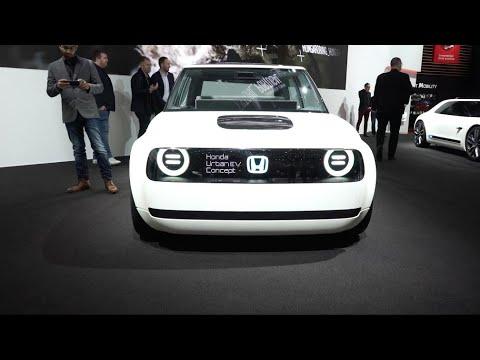 Honda Urban EV Spotted in Geneva