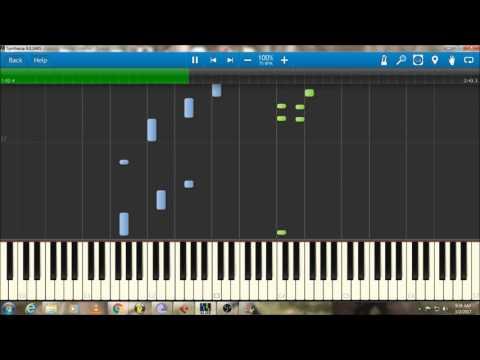 Katheyondha Helide | Kirik Party | Piano Tutorial | Synthesia