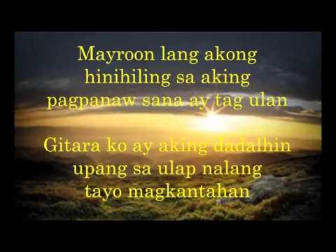 Masdan Mo Ang Kapaligiran-Asin w/ lyrics