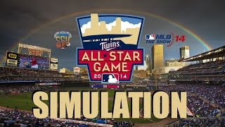2014 MLB All-Star Game Simulation (MLB 14: The Show - PS4)