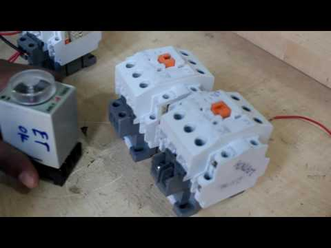 Auto star Delta Circuit Connection |Star Delta Starter - Motor Control - Practical video