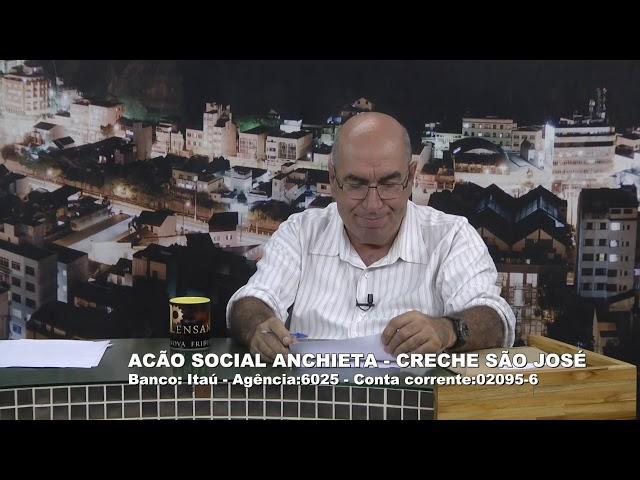 25-10-2019 - PENSANDO NOVA FRIBURGO - Jorge Carvalho