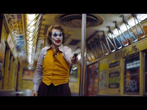 Arthur kills three guys in the subway   Joker [UltraHD, HDR]