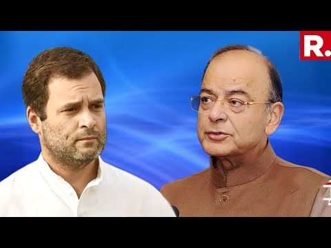 Arun Jaitley' Stinging Attack On Rahul Gandhi & Priyanka Vadra Over Dynasty
