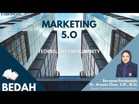 Bedah Buku Marketing 5.0 Technology For Humanity