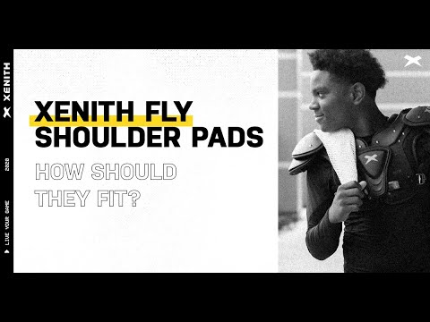 Xenith Youth Fly Shoulder Pads Presented by Dick's Sporting Goods