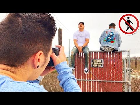 """FOTOS EN UNA AREA PROHIBIDA """"cercas de NASA"""" (HotSpanish Vlogs)"""