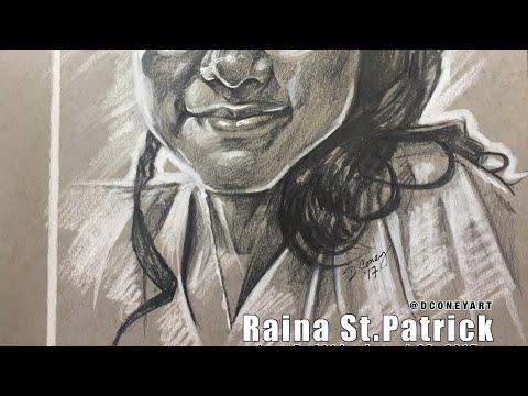 Raina St.Patrick from Starz' POWER   DConey Sketch