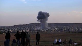 Удар по складу ГСМ одного из отрядов ИГИЛ в р-не ХАН-ЭЛЬ-АСАЛЬ