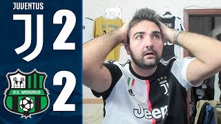 SCANDALOSI SOTTO PORTA! JUVENTUS 2-2 SASSUOLO | LIVE REACTION HD