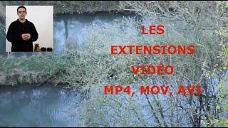 Quelle extension de vidéo choisir ? MP4, MOV, AVI, FLV...