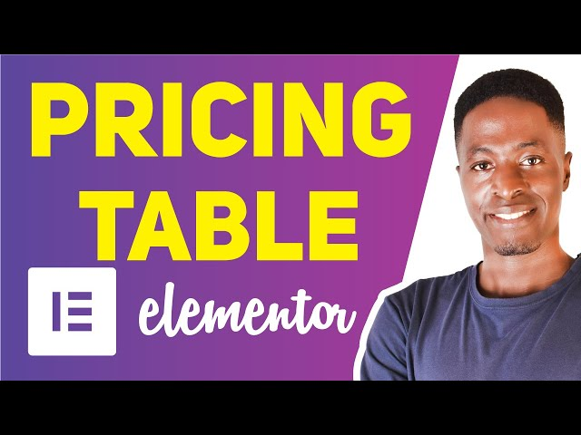 Create Pricing Table in Elementor (FREE) with Elements Kit Addons