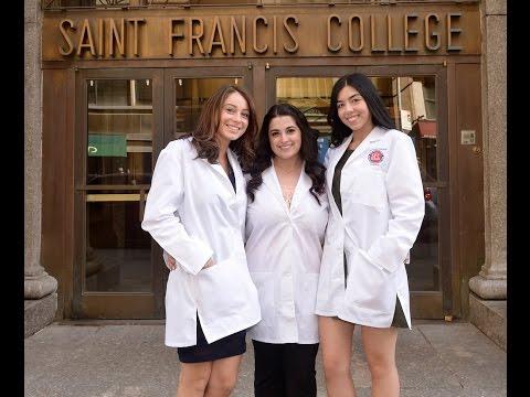 St. Francis College Second Annual Nursing White Coat Ceremony