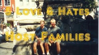 Host Families - 5 Things You Will Love & Hate about Living with a Host Family
