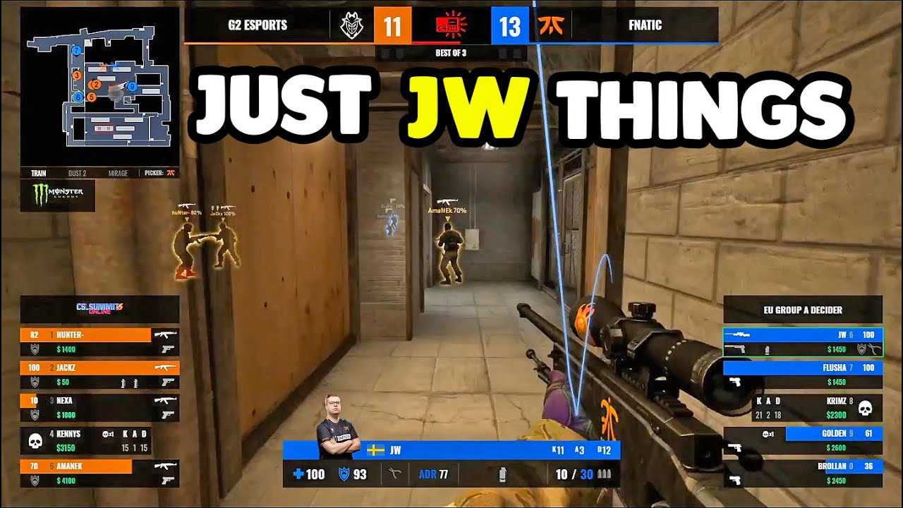 Dosia Is Back With Insane Clutches! JW Outplayed G2! GuardiaN One Deags! CS:GO Twitch Clips