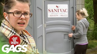 Victims Watch People Disappear In PortaPotty