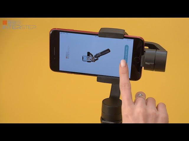Видео инструкция для монопода INTERSTEP c 3D стабилизацией