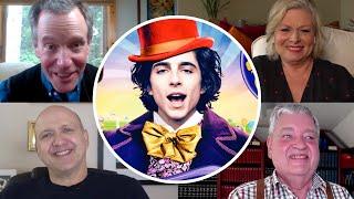 Original WILLY WONKA Kids React To Timothee Chalamet Casting | FUN INTERVIEW