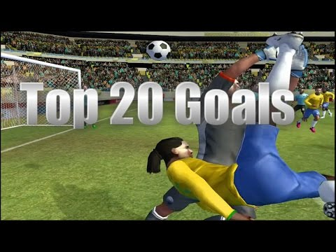 My Top 20 Goals in Dream League Soccer and FTS World Edition