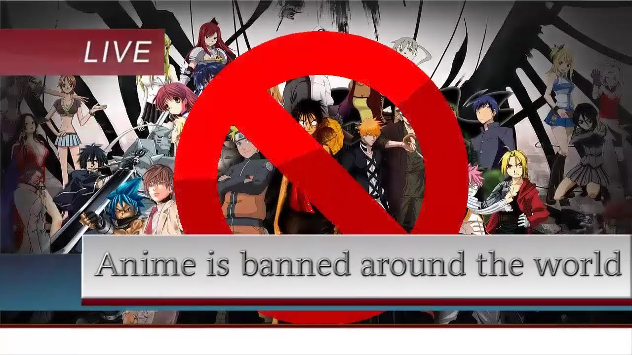 The Prohibition of Anime   Neon Rockman