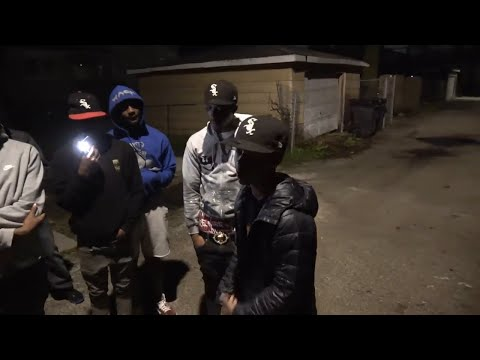 CHICAGO GANGS, ALLEYS, AND GUNS AT NIGHT COMPILATION