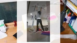 중량걸고 철봉매달리기(weighted hang)와 딥벨…