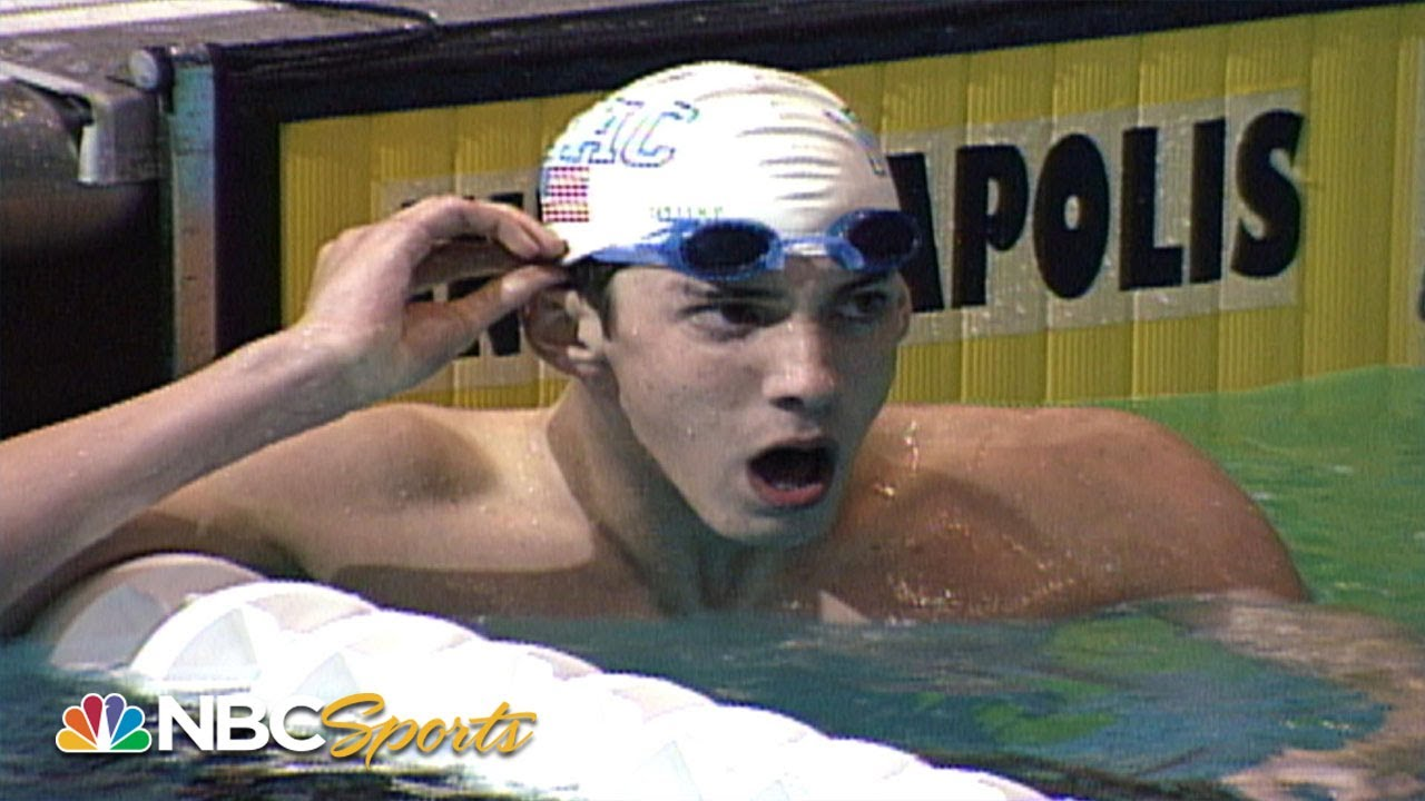15-year-old Michael Phelps qualifies for his first Olympics | NBC Sports