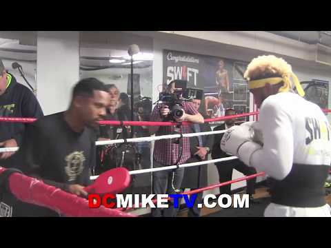 JARRETT HURD SHOWS POWER ON THE INSIDE AHEAD OF JASON WILBOURNE CLASH