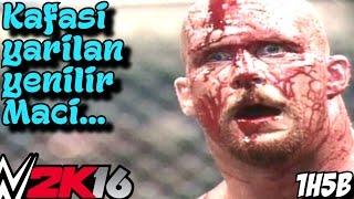 WWE 2K16 Türkçe Hikaye Modu | Ölene kadar Mac Undertaker, Kane, Rock | 1H5B | Ps4