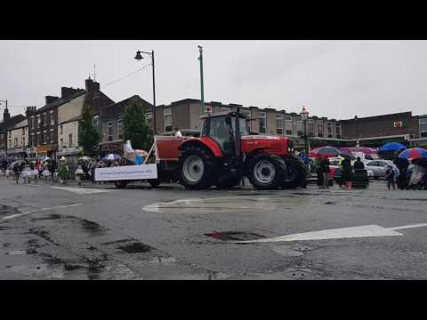 Kirkham club day procession 2017