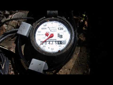 Gallon Water Meter How To Read