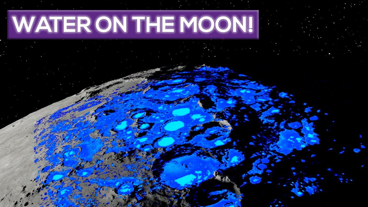 Water On The Moon, In More Places Than Nasa Thought