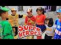 Parodi Lucu!!!Rara dan Superhero Melawan Penjahat  Kostum Baru Superhero Part 1 & 2 Nursery rhymes