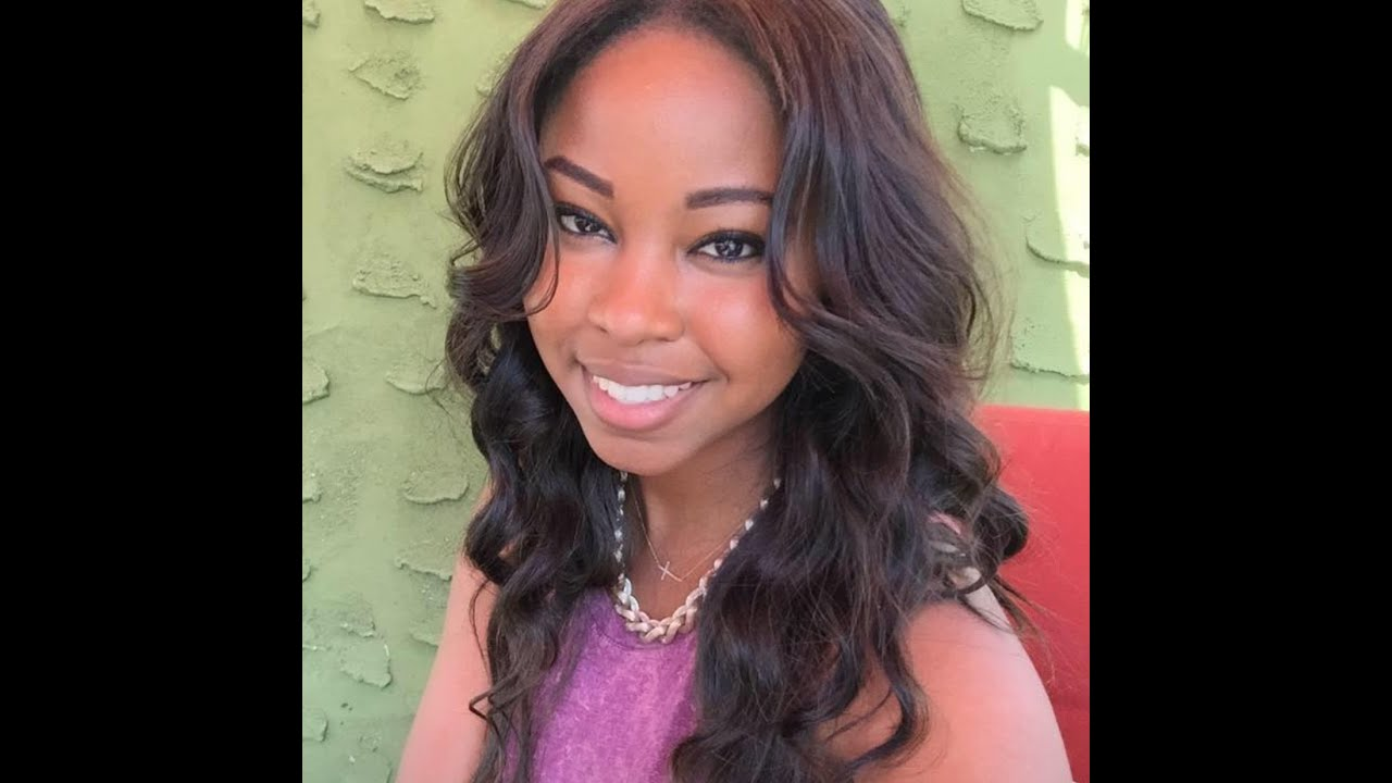 Easy Quick Partial Sew-in Weave For Natural Hair 2016