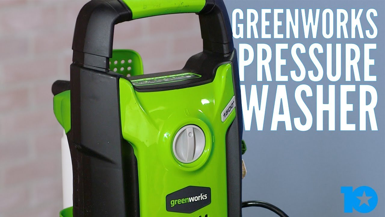 REVIEW: GreenWorks Pressure Washer