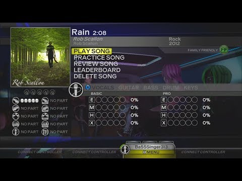 """Rock Band: Custom Song """"Rain"""" (Available For Download For All Consoles)"""