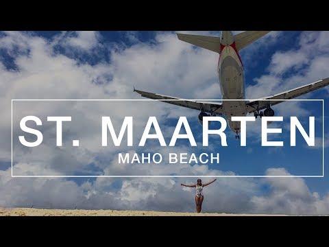 St. Maarten - Maho Beach | Plane Takeoff & Landing Adventure |