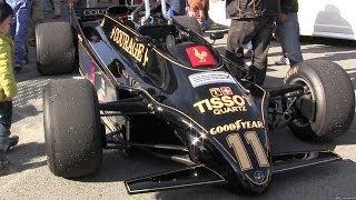 【 Classic Team Lotus Japan 】 幻のツインシャシーF1マシン、ロータス88Bデモ走行!!Pt.1 【 第50回SHCCミーティング at 大磯ロングビーチ 】
